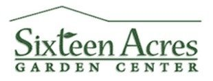 Logo tuincentrum Sixteen Acres Garden Center