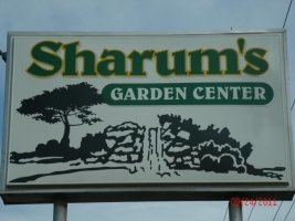 Logo tuincentrum Sharums Garden Center