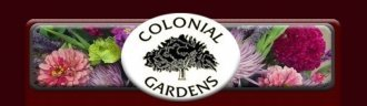 Logo tuincentrum Colonial Gardens