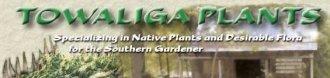 Logo tuincentrum Towaliga Plants