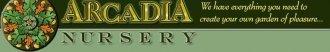 Logo tuincentrum Arcadia Nursery