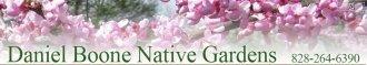 Logo tuincentrum Daniel Boone Native Gardens