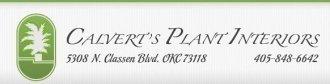 Logo tuincentrum Calvert's Plant Interiors
