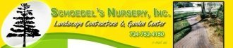 Logo tuincentrum Schoedel's Nursery