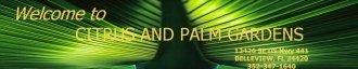 Logo tuincentrum Citrus & Palm Gardens