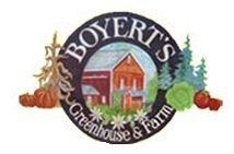 Logo tuincentrum Boyert's Greenhouse & Farm