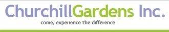 Logo tuincentrum Churchill Gardens