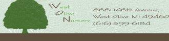 Logo tuincentrum West Olive Nursery