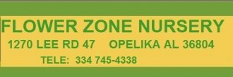 Logo tuincentrum Flower Zone Nursery