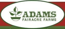 Logo tuincentrum Adams Fairacre Farm Inc
