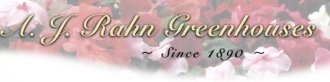 Logo tuincentrum A J Rahn Greenhouses