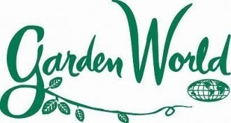 Logo tuincentrum Garden World