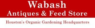 Logo tuincentrum Wabash Antiques & Feed Store