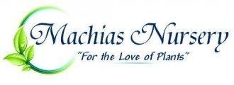 Logo tuincentrum Machias Nursery