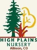 Logo tuincentrum High Plains Nursery