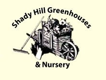 Logo tuincentrum Shady Hill Greenhouses