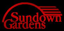 Logo tuincentrum Sundown Gardens