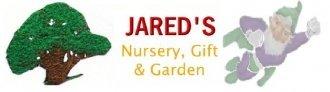 Logo tuincentrum Jared's Nursery, Gift and Garden