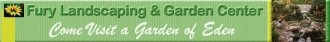 Logo tuincentrum Fury Landscaping & Garden Center