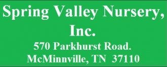 Logo Spring Valley Nursery