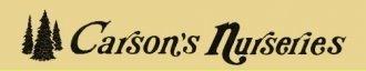 Logo tuincentrum Carson's Nurseries