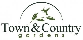Logo tuincentrum Town & Country Gardens