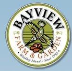 Logo tuincentrum Bayview Farm & Garden