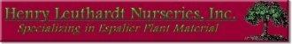 Logo tuincentrum Henry Leuthardt Nurseries