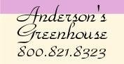Logo Anderson's Greenhouse