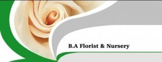 Logo tuincentrum B A Florist & Nursery Co