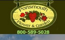 Logo tuincentrum Portsmouth Gardens