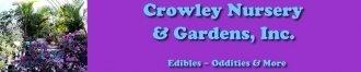Logo tuincentrum Crowley's Nursery & Gardens